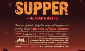 Urban Harvest Twilight Supper Poster